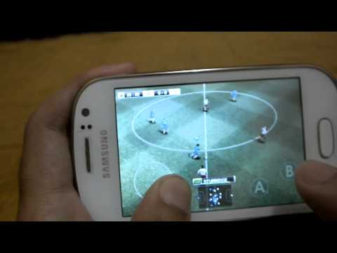 PES 2012 on Samsung Galaxy Fame