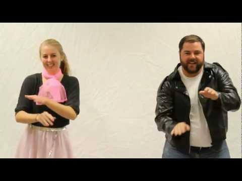 Rock  roll dance 1959 (the hand jive)