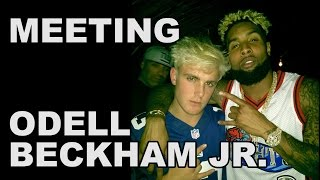 MEETING ODELL BECKHAM JR.