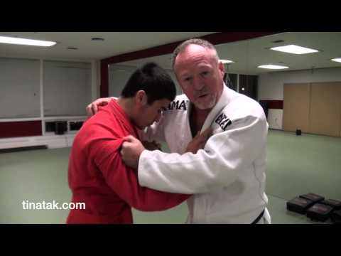 Sambo - Uki goshi throw to arm bar and wrist lock Image 1