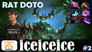 iceiceice - Nature's Prophet Offlane | RAT DOTO | Dota 2 Pro MMR Gameplay #2