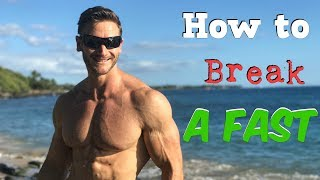 Fasting Tips: 3 Best Foods to Break a Fast- Thomas DeLauer…