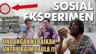 VIRALKAN !! Undangan Kebaikan Untuk Baim Paula Di Jogjakarta  - Social Experiment Indonesia