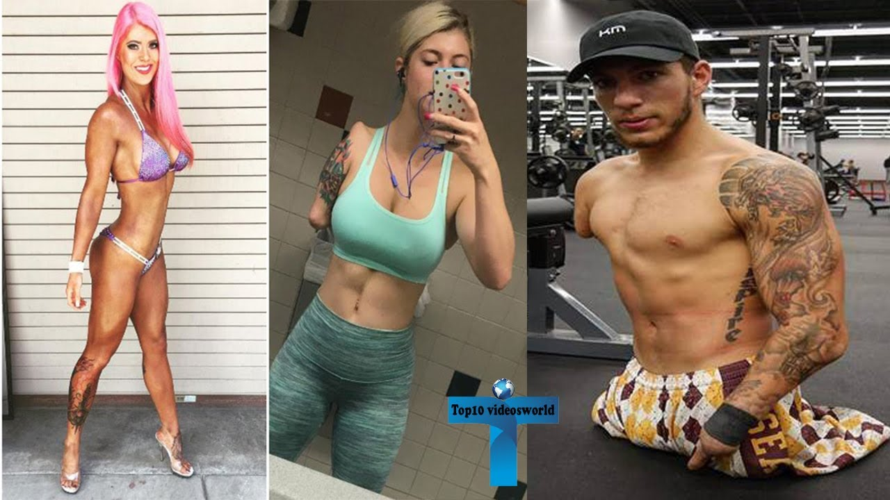 Top 10 Truly Amazing And Unusual Bodybuilders Who Born Without Limbs