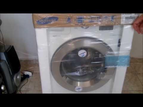 Roupa suja se lava na máquina! - Lavadora Samsung Seine 10,1 kg (WF106U)