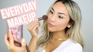 NATURAL EVERYDAY MAKEUP | TRYING NEW MAKEUP PRODUCTS!