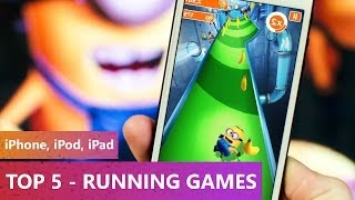 TOP 10 - FREE Running Games 2013-2014 (iPhone, iPod, iPad)
