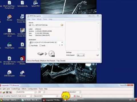 tutorial para grabar juegos de ps2 y xbox dvd decrypter