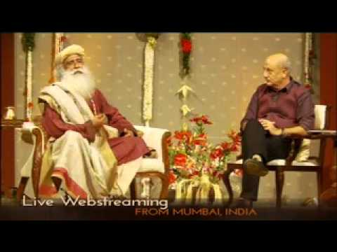 In Conversation with the Mystic - Anupam Kher with Sadhguru [LIVE]
