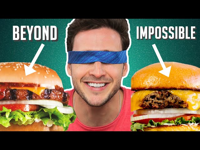 Doctor Reviews Meatless Burgers | Impossible, Beyond & More! thumbnail