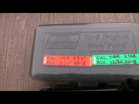 F-1 Chrony Chronograph Testing With The Zastava EZ9