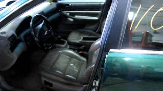 Parting out a 1998 Audi A4  110110