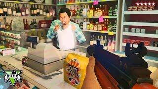 GTA 5 Online: Robbing Everything Challenge!! | GTA Robbing Challenge! PS4  | GTA 5 Funny Moments