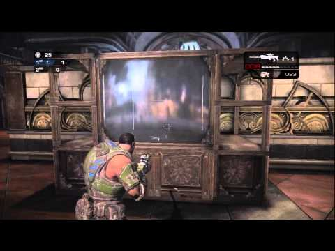 Gears of War: Judgment - Museum Easter Egg! (Tutorial w/ Commentary!)