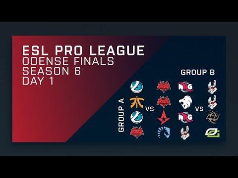 CS:GO - Groups Day 1 - ESL Pro League Season 6 Finals - Secondary Stream