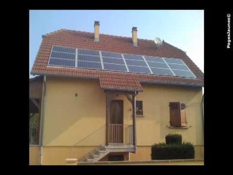 Pose de panneaux solaires photovoltaïques en Alsace - RH