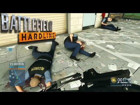 Battlefield Hardline (PS4) - MAP Walkthrough & Exploration