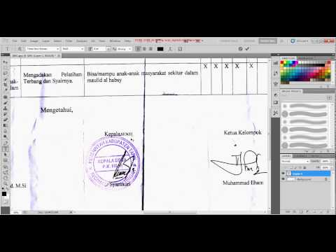 Tutorial Edit Tulisan Dari Scane Dengan Photoshop video