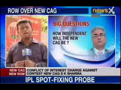 Sashi Kant Sharma to replace outgoing CAG Vinod Rai