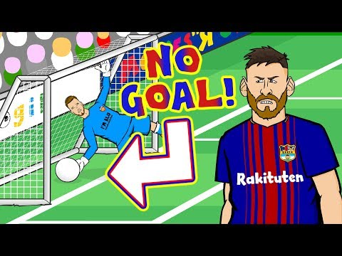 🤔MESSI - DISALLOWED GOAL CONSPIRACY!🤔(Parody Valencia vs Barcelona 1-1) thumbnail
