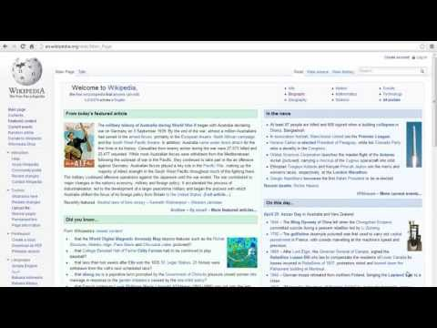 How to Create a Page in Wikipedia