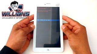 Como formatar o Tablet DL TX315, TX316, TX319, TX320 com hard reset de fábrica
