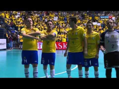 Futsal(FINAL) Brasil 7 x 2 Colômbia - CAMPEÃO Grand Prix Futsal 2014