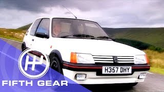 Fifth Gear: Peugeot 205 GTi Vs 207 GTi THP175