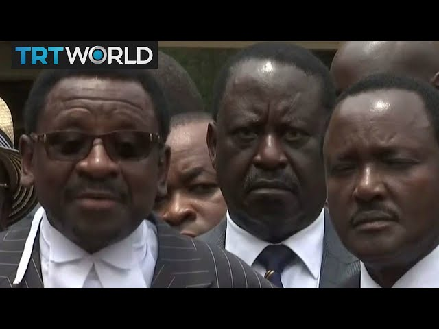 Breaking News: Kenya's Supreme Court overturns election results