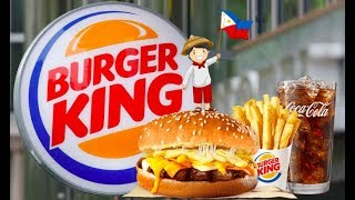 Burger King Philippines Delivery: 4 Cheese Whopper ✅