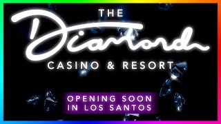 "GTA 5 ""THE DIAMOND CASINO & RESORT"" DLC RELEASE! - NEW CARS, PENTHOUSES & MORE! (GTA 5 CASINO UPDATE"