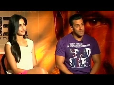Salman, Katrina Talk About  Ek Tha Tiger video