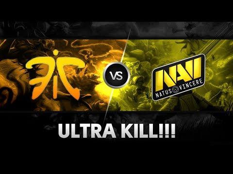 Ultra kill by Era vs Na`Vi (FluffyBears) @ DH Bucharest