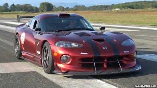 BRUTAL Dodge Viper GTS-R INSANELY LOUD V10 Sounds!