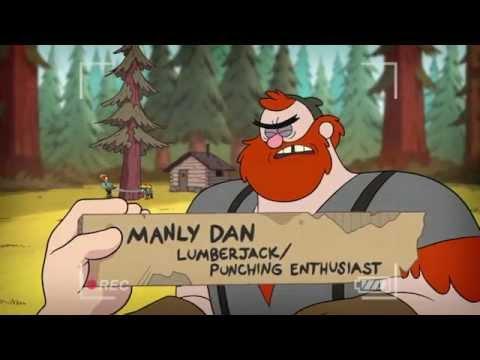 Гравити Фолз - мини-эпизоды - Прячущийся