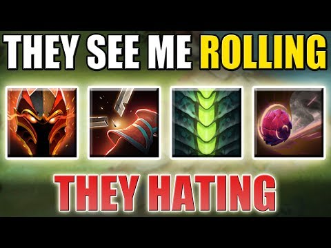 Rolling Tank Centaur with Pangolier Ulti [Full Passive - One Button] Dota 2 Ability Draft