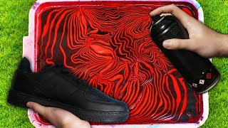 HYDRO Dipping AIR FORCE 1's! (Giveaway) 🎨