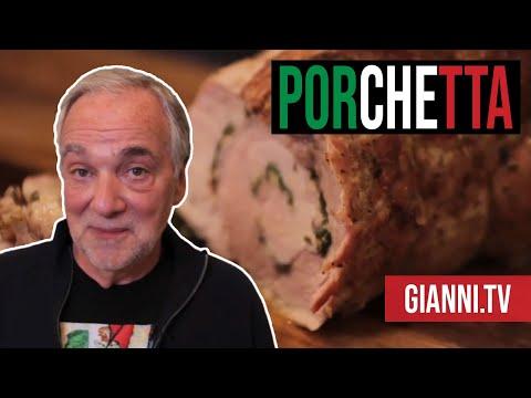 Porchetta - Italian recipe