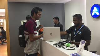 AppWorld Costumer Review At HP Laptop Service Hitech - City Gachibowli Hyderabad