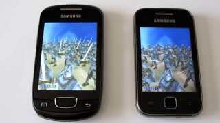 Galaxy Mini VS Galaxy Y AnTuTu Benchmark