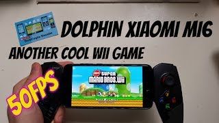 New Super Mario Bros Wii Gameplay Android Smartphone/Dolphin Emulator Best settings 30-50FPS