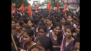 UDUPI MANIPAL RAPE ABVP COLLEGE BAND PROTEST