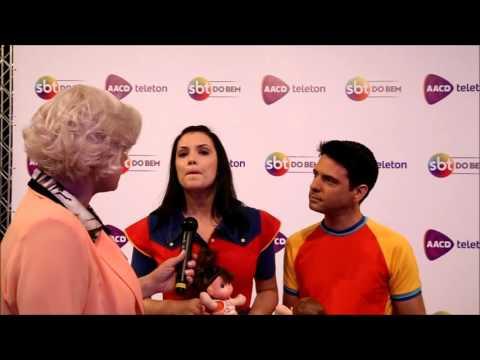Suzy Lemos entrevista Estela e Vini no Teleton 2015