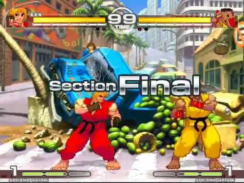 MUGEN : Teacher Student 3 Ken vs Sean