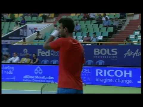 ACO 2014 - Day2 Match1 - P CARRENO BUSTA vs Y BHAMBRI