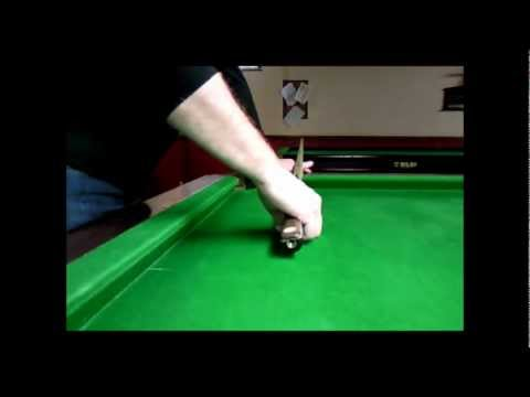 Snooker tips # cueing clinic (my grip).wmv