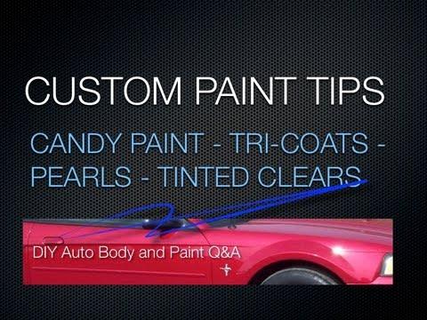 Tri Coat Car Painting