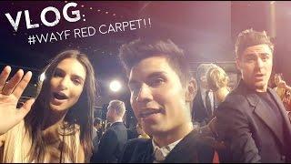 VLOG: Sam Takes Over #WAYF RED CARPET!! (w/Zac Efron!)