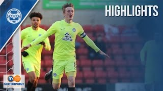 HIGHLIGHTS | Swindon Town vs Peterborough United