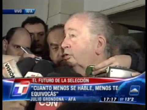 Grondona: